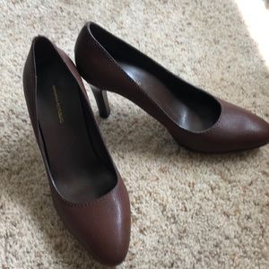 Dark brown banana republic heels